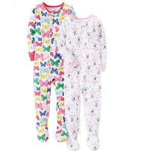 Baby Girls 2-Pack Cotton Pajamas